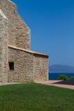Старая церковь в Испании стоковое изображение rf