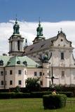 Старая церковь в Кракове, Польша Стоковые Изображения RF