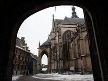 Старая церковь в Нидерландах стоковые фото