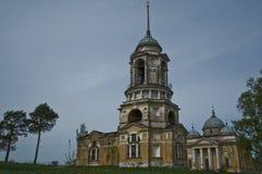 Старая церковь в России стоковые изображения
