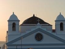 Старая церковь в Сардинии, Италии Стоковая Фотография RF