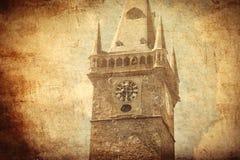 Старая церковь в стиле готической архитектуры стоковое изображение rf