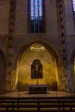 Старая церковь в Тулуза Стоковое фото RF