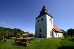 Старая церковь в Швеции Стоковое фото RF