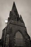 Старая церковь в Alloa Шотландии Стоковая Фотография