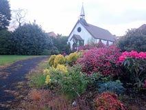 Старая церковь олова Стоковое фото RF
