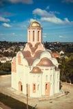 Старая церковь Русск-стиля Стоковые Изображения