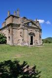 Старая церковь Сан Bonaventura, Canale Monterano, Италии Стоковое Фото