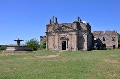 Старая церковь Сан Bonaventura, Canale Monterano, централи оно Стоковые Изображения