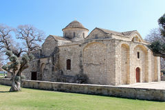 Старая церковь Angeloktisti стоковое фото