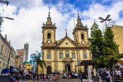 Старая церковь Aparecida стоковая фотография