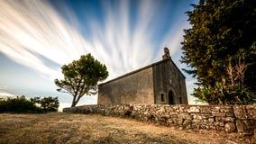 Старая церковь St Agnes Стоковое Изображение RF