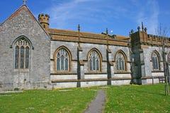 старая церков английская Стоковое Фото