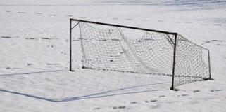 Старая цель футбола Стоковое Изображение RF