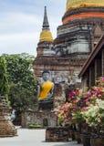 Старая цивилизация буддизма Стоковые Изображения