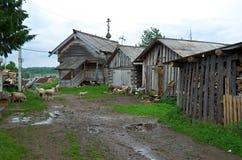 Старая часовня деревни Стоковое Изображение