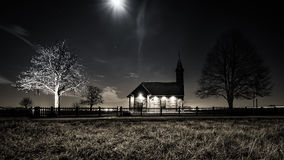 Старая часовня Стоковая Фотография