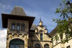 Старая часть Гента Бельгии кирпичного здания Стоковое Фото