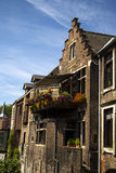Старая часть Гента Бельгии кирпичного здания Стоковое Изображение