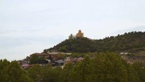 Старая часть Тбилиси сток-видео