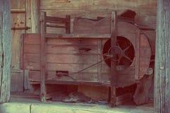 Старая часть транспортера на пороге Стоковое Изображение