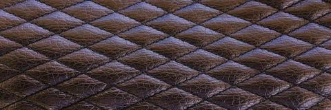 Старая черная кожаная предпосылка текстуры Органическая кожаная предпосылка Черная естественная кожаная текстура Стоковое фото RF