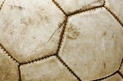 старая шарика кожаная Стоковые Изображения