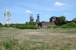 Старая шахта в Bytom Польше Стоковое Изображение