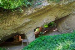 Старая шахта для выкапывая камней Стоковая Фотография RF