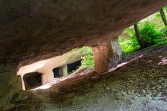 Старая шахта для выкапывая камней Стоковое Изображение RF
