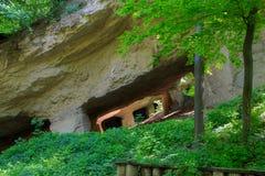 Старая шахта для выкапывая камней Стоковые Фото
