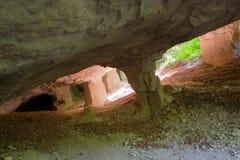 Старая шахта для выкапывая камней Стоковые Изображения