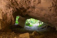 Старая шахта для выкапывая камней Стоковые Фотографии RF