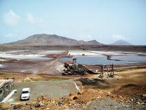 Старая шахта соли Стоковые Изображения RF