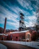 Старая шахта Landek стоковые фотографии rf