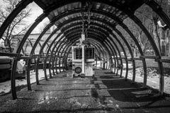 Старая шахта Landek стоковое изображение rf