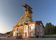 Старая шахта Witold в Boguszow Gorce около Wlabrzich в Польше Стоковое Изображение