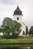 Старая шведская церковь, сделанная камня Стоковое Фото