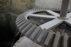 Старая шестерня кольца Стоковая Фотография