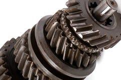 Старая шестерня частей металла Стоковое Фото