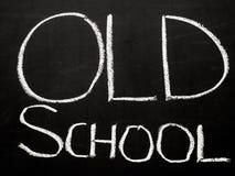 Старая школа Стоковая Фотография