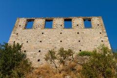 Старая школа Kayakoy, Fethiye Стоковые Изображения