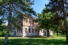 Старая школа Slaveykov в Targovishte, Болгарии Стоковая Фотография RF