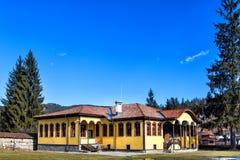 Старая школа в городке Koprivshtitsa, Болгарии Стоковые Фото