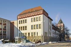 Старая школа в Liptovsky Mikulas Словакия Стоковые Фотографии RF