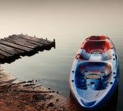 Старая шлюпка каяка Стоковая Фотография
