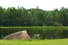 Старая шлюпка на побережье Стоковое Изображение RF
