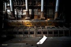 Старая электрическая станция стоковое изображение rf