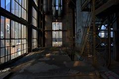 Старая электрическая станция стоковые фотографии rf