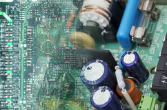 старая электроники новая к Стоковые Фотографии RF